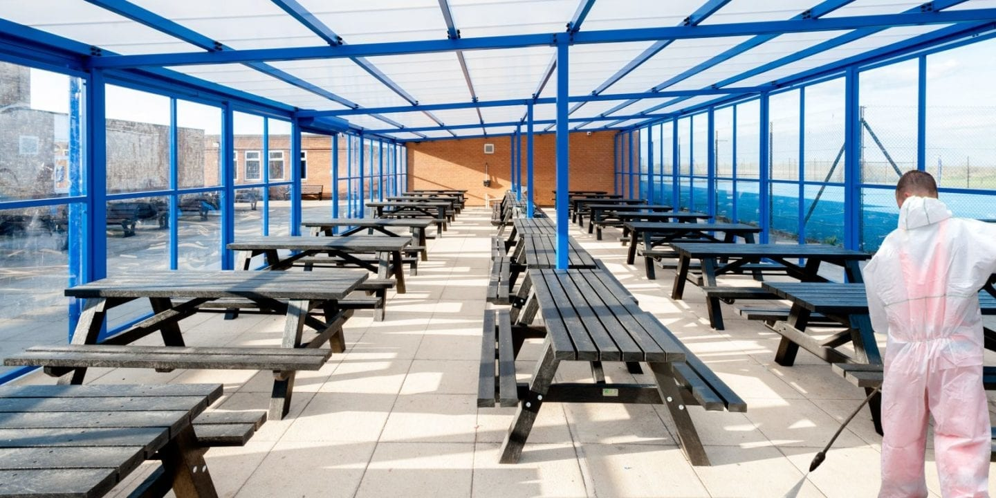 Dining Canopy Clean