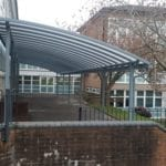 Canopy we installed at Dowdales Primary School