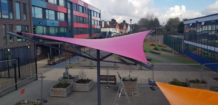 Dunraven Academy Shade Sails