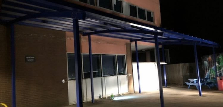 Fairfield High School Shelter