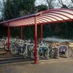 Bike store we installed at Myton School