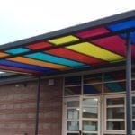 Shelter we made for Southmuir Primary School