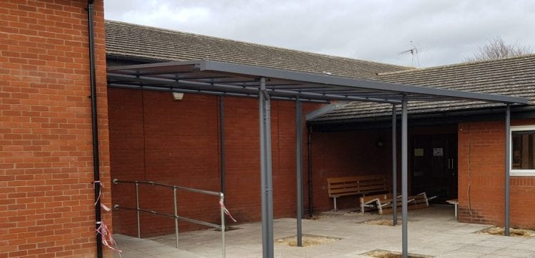 St Bede's Inter Church School Shelter
