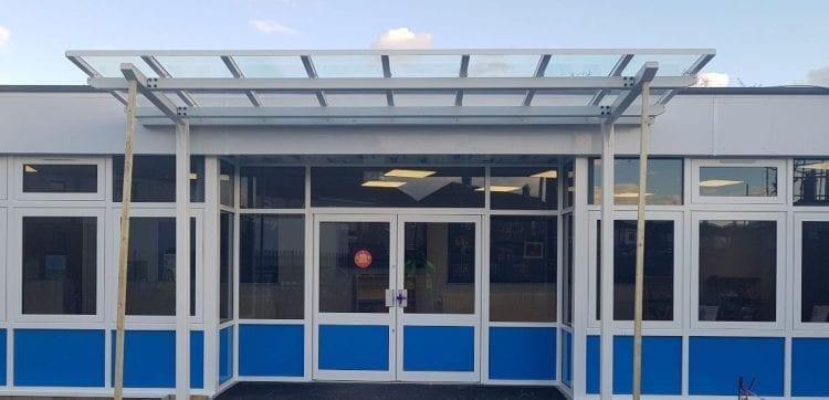 Whybridge Infants School Entrance Canopy