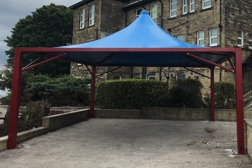 Shelter we installed at William Henry Smith School