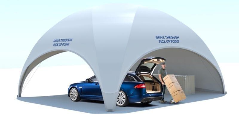 Fabric Car Shelter