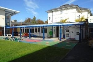 Shelter we installed at Berkhampstead School