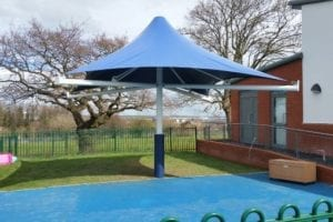 Canopy we installed at Jigsaw Playgroup