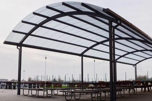 Shelter we installed at John Henry Newman College