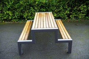 Hercules Wooden School Bench