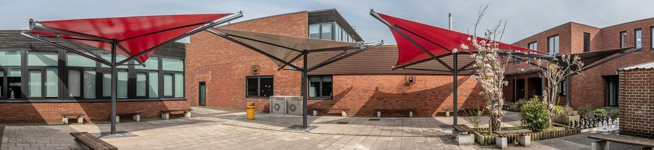 Alderlsey School Shade Sails