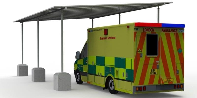 Ambulance Canopy