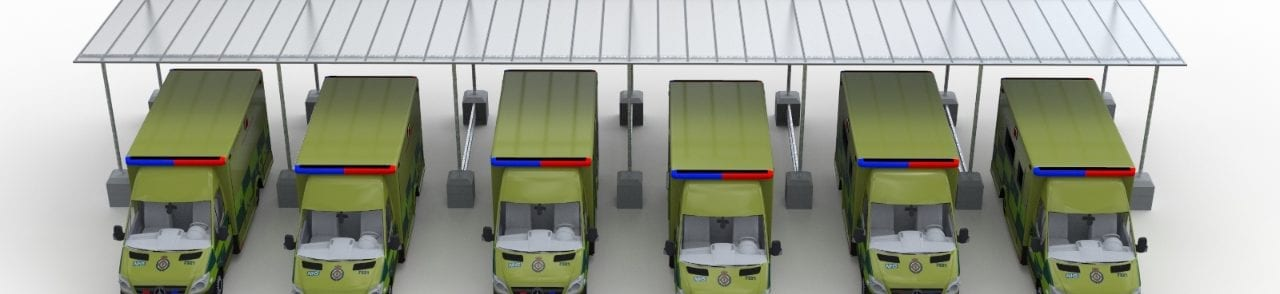Ambulance Fleet Shelter