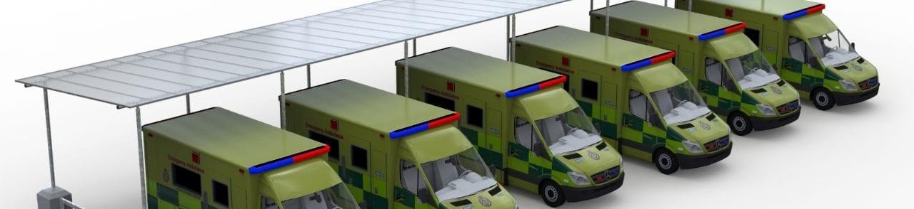 Shelter for Ambulances