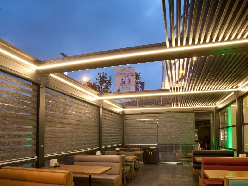 Cafe Bioclimatic Pergola