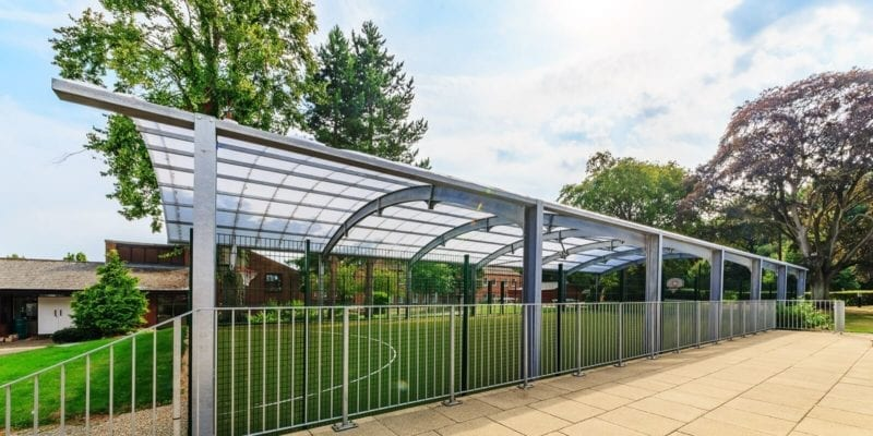 Haileybury College Covered MUGA Canopy