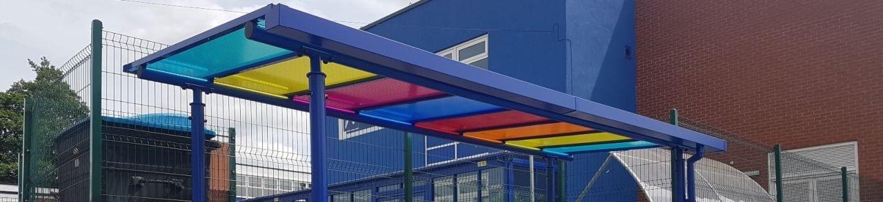 Djanogly Northgate Academy Colourful Shelter