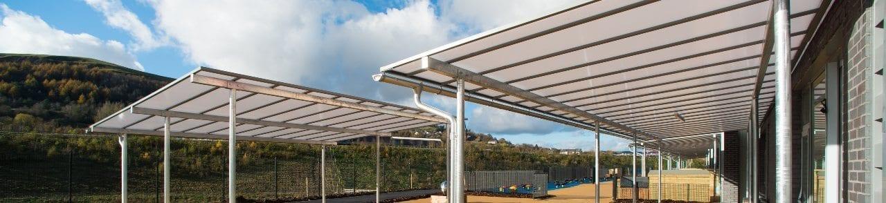 Ebbw Fawr Learning Community Canopies