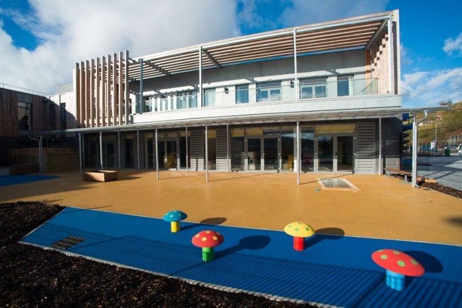 Canopy we designed for Ebbw Fawr Learning Community