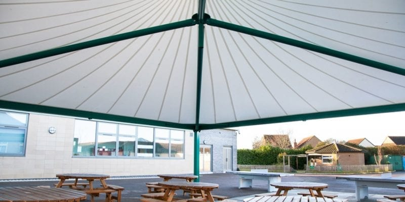 Fabric Tepee School Canopy