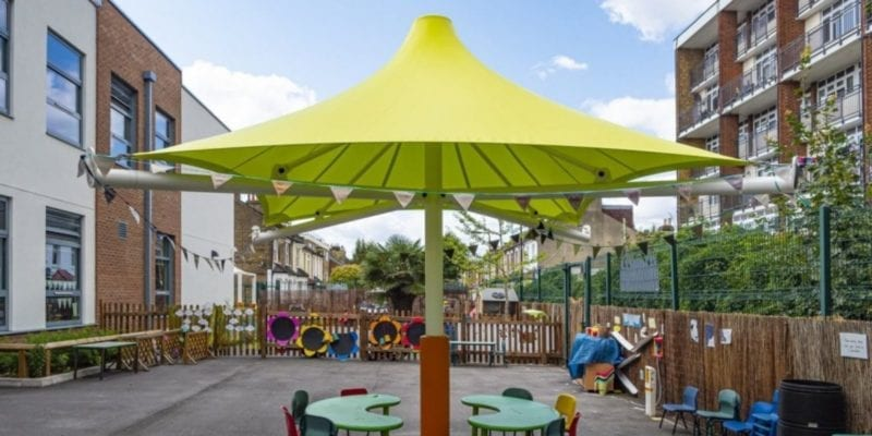 Canopy we fitted at George Mitchell Primary School