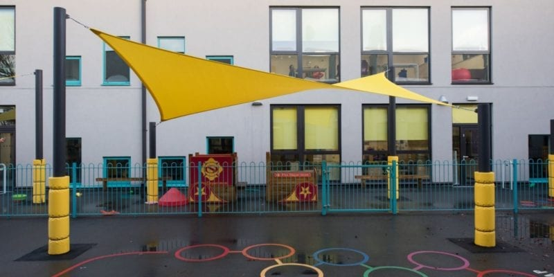 Canopy we installed at Glenwood School