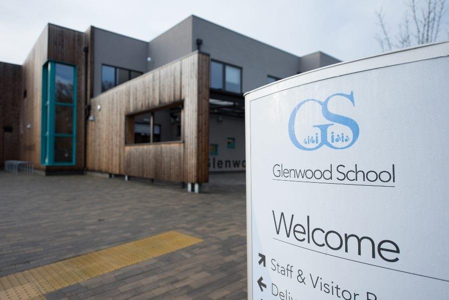 Glenwood School Entrance Way