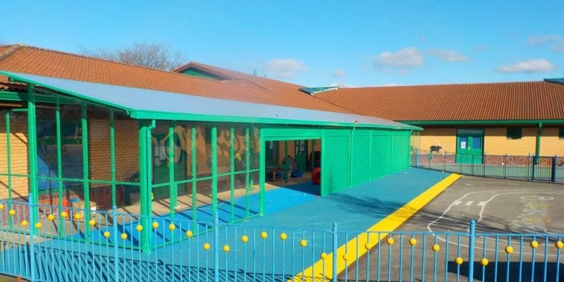 Green Secure School Shelter