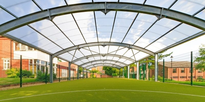 Covered Multi Use Games Area at Haileybury College