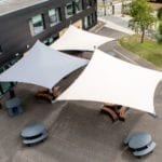 Shade Sails we fitted at Hessle Academy
