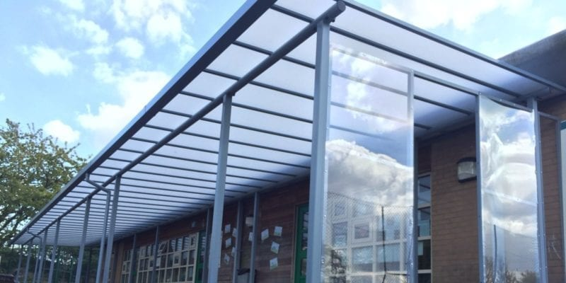 Canopy we installed at Jessons Primary School