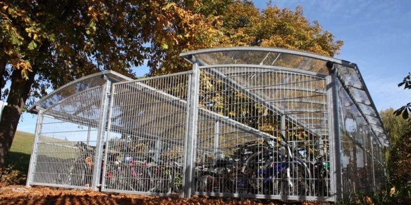 Meole Brace School Cycle Shelter