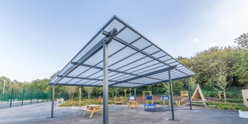 Millbrook Primary School Shelter