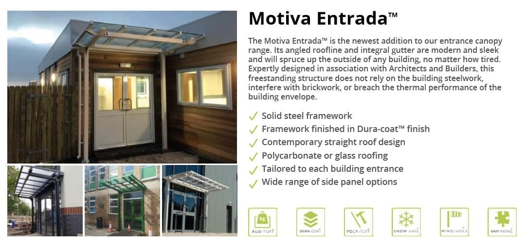 Motiva Entrada Canopy Data Sheet