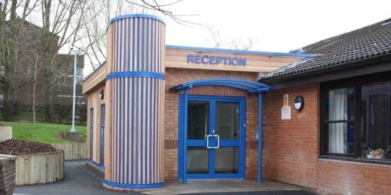 Randlay Primary School Entrance Canopy