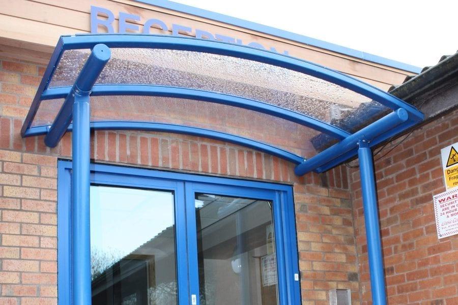 Shelter we designed for Randlay Primary School