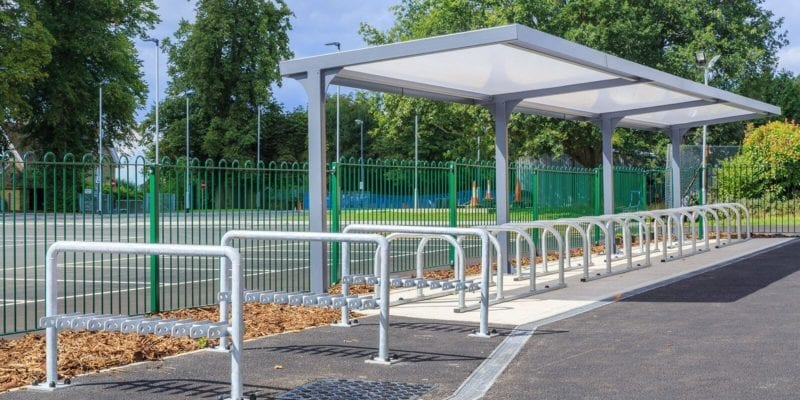 Simon Balle School Cycle Shelter