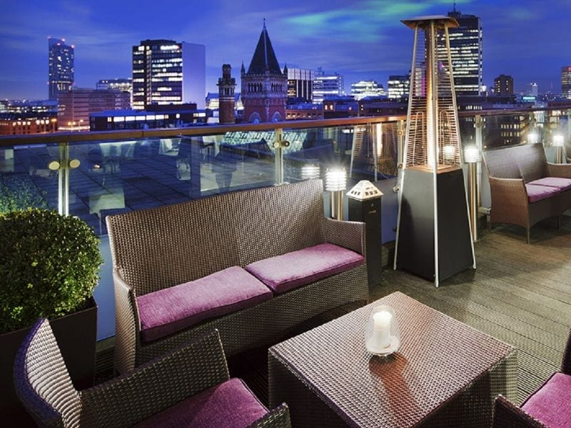 Skylounge at DoubleTree Manchester