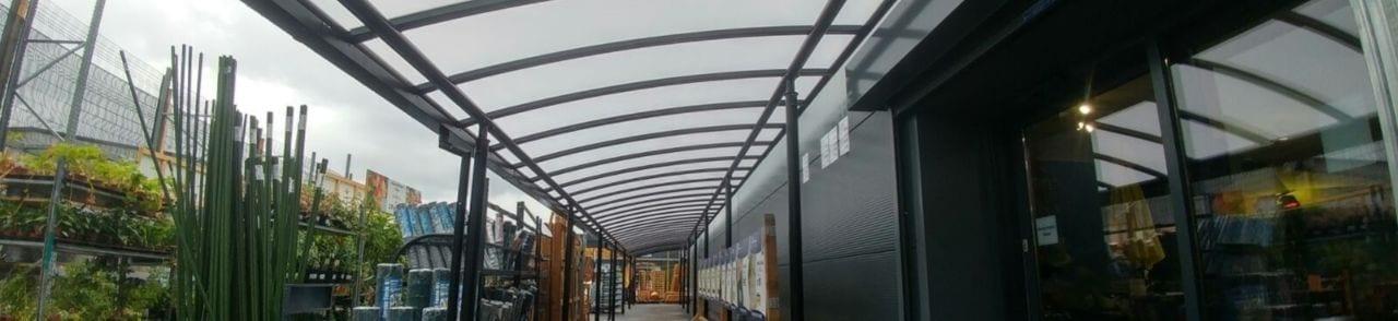 Taskers Garden Centre Covered Walkway