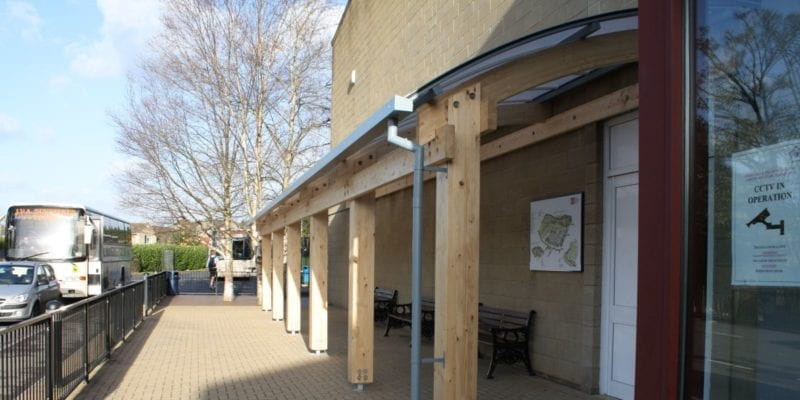 Timber Walkway Canopy