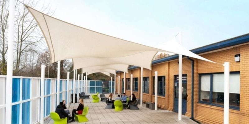 Sail we designed for Wilmslow School
