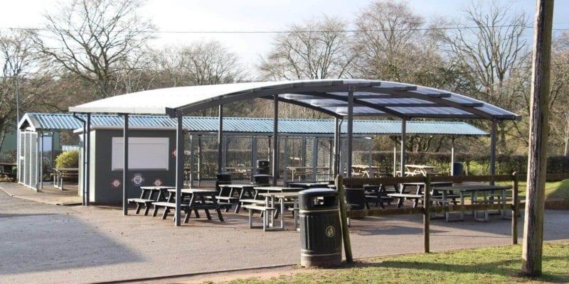 Wolverley School Canopy