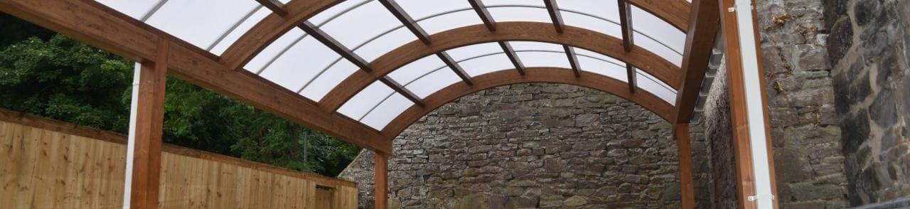 Gluelam Design Canopy