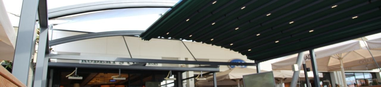 Fabric Retractable Canopy
