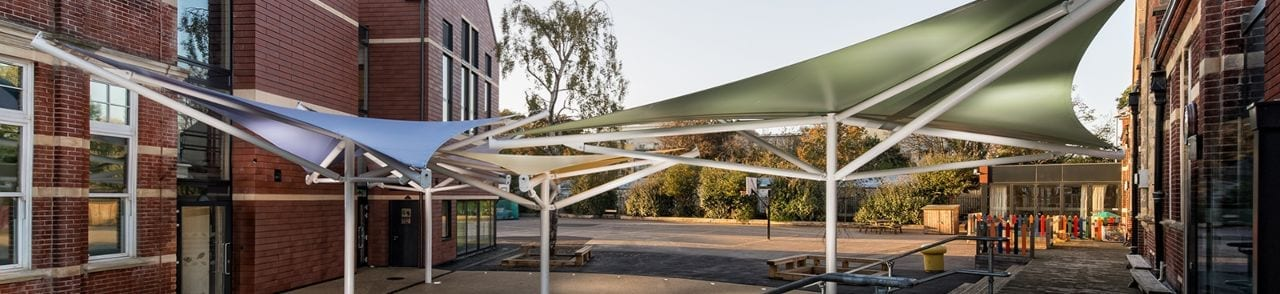 Milton Park Primary School Shade Sails