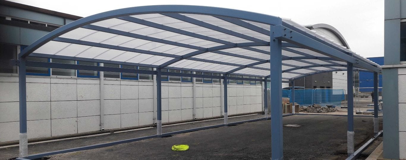 St Wilfrid's High School Canopy Structure