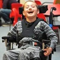 Happy Primary School Child
