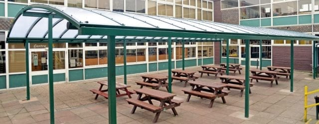 Dining Area Shelter Rushcliffe School