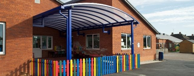 Curved Roof Nursery Canopy