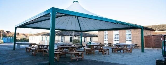 Dining Area Tepee Canopy